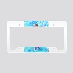 Starfish Mercat License Plate Holder