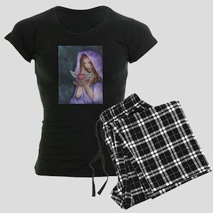 Love Magic Women's Dark Pajamas