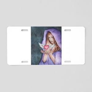 Love Magic Aluminum License Plate