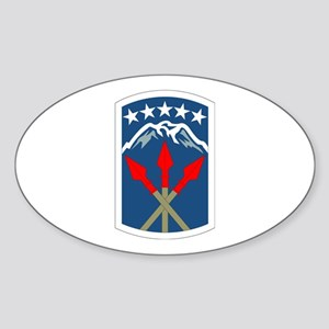 DUI - 593rd Bde - Special Troops Bn Sticker (Oval)