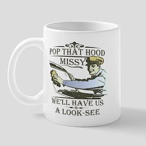 Pop that hood Missy! Mug