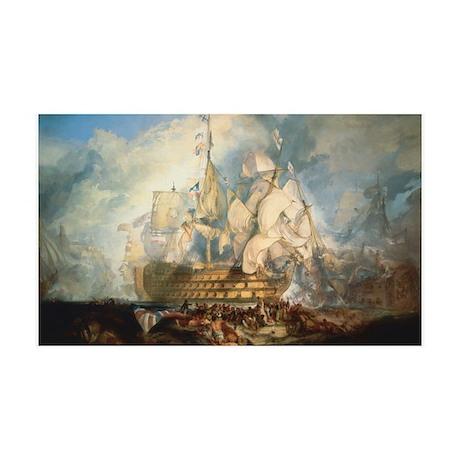 Battle of Trafalgar 38.5 x 24.5 Wall Peel