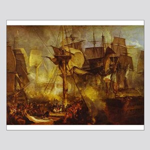 Battle of Trafalgar 1808 Small Poster