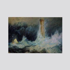 Bell Rock Lighthouse Rectangle Magnet