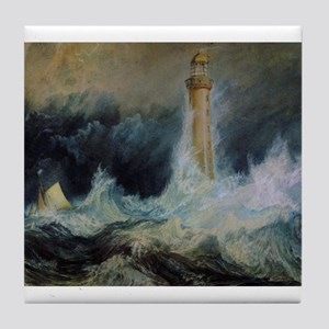 Bell Rock Lighthouse Tile Coaster