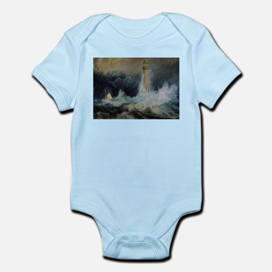 Bell Rock Lighthouse Infant Bodysuit