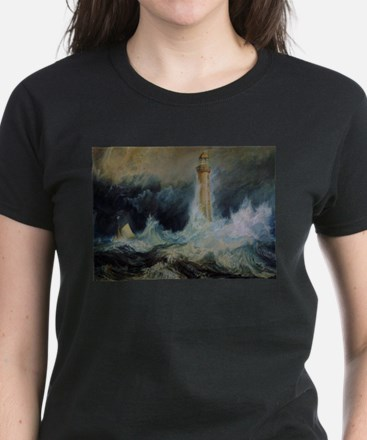 Bell Rock Lighthouse Women's Dark T-Shirt