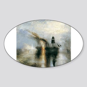 Burial at Sea Sticker (Oval)