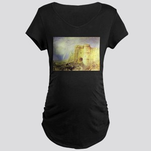 Carisbrook Castle Maternity Dark T-Shirt