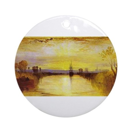 Chichester Canal Ornament (Round)