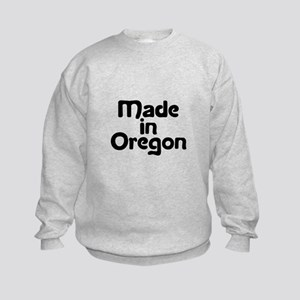 Made in Oregon Kids Sweatshirt