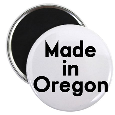 "Made in Oregon 2.25"" Magnet (10 pack)"