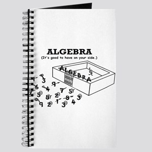 ALGEBRA GOOD ON YOUR SIDE Journal