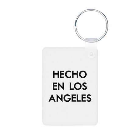 Hecho En Los Angeles Aluminum Photo Keychain