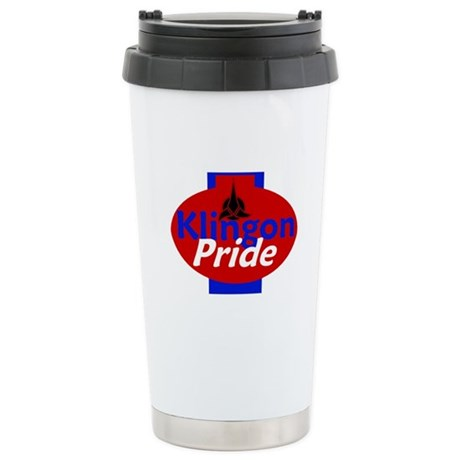 Klingon Pride Stainless Steel Travel Mug