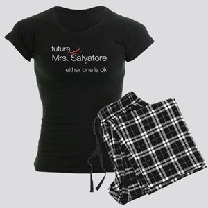 future Mrs. Salvatore Women's Dark Pajamas