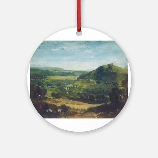 Plym Estuary Ornament (Round)