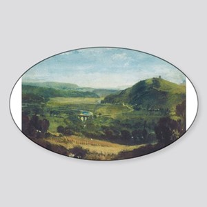 Plym Estuary Sticker (Oval)