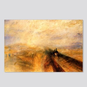 Rain, Steam, and Speed Postcards (Package of 8)