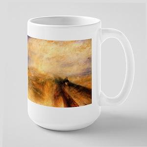 Rain, Steam, and Speed Large Mug