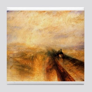 Rain, Steam, and Speed Tile Coaster