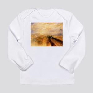 Rain, Steam, and Speed Long Sleeve Infant T-Shirt