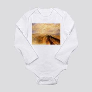 Rain, Steam, and Speed Long Sleeve Infant Bodysuit