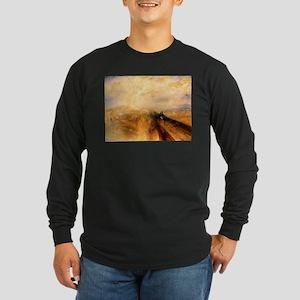 Rain, Steam, and Speed Long Sleeve Dark T-Shirt