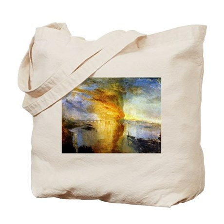 The Burning of the Houses of Tote Bag
