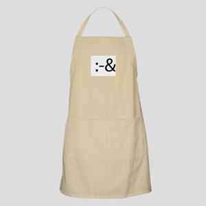 Tongue Tied Smilie BBQ Apron