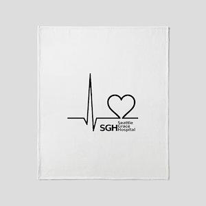 Seattle Grace Hospital Throw Blanket