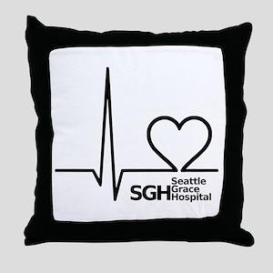 Seattle Grace Hospital Throw Pillow