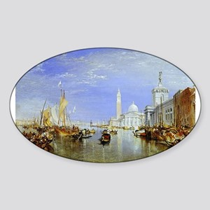 Venice Sticker (Oval)