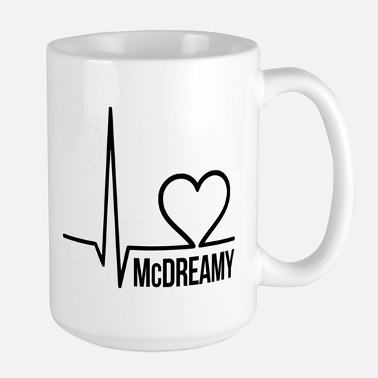 McDreamy Grey's Anatomy Large Mug