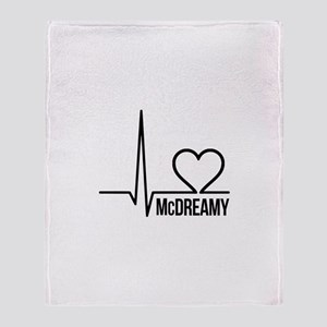 McDreamy Grey's Anatomy Throw Blanket