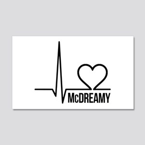 McDreamy Grey's Anatomy 22x14 Wall Peel