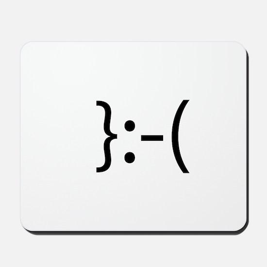 Toupee Smilie Mousepad