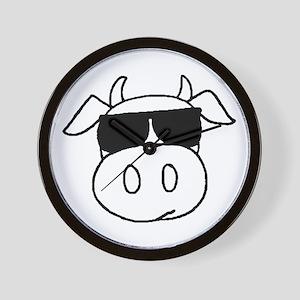 Cow Head Wall Clock