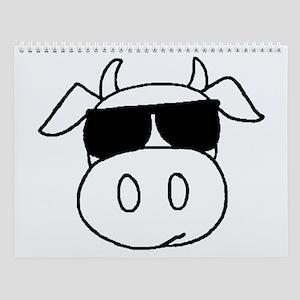 Cow Head Wall Calendar
