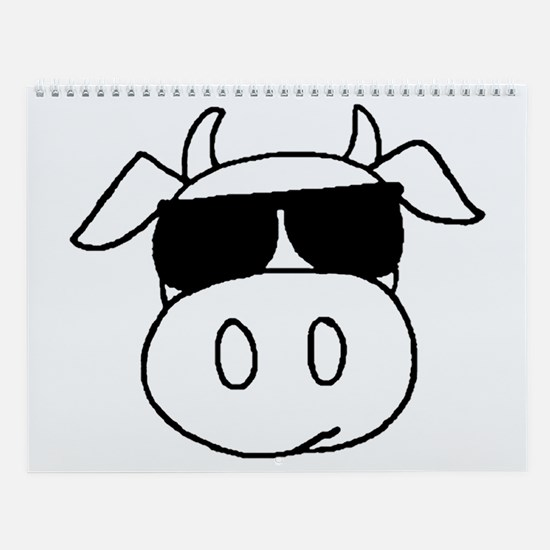Cow Head Wall Calendar