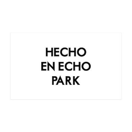 Hecho En Echo Park 38.5 x 24.5 Wall Peel
