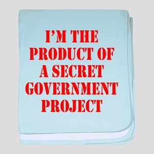 Product of Government baby blanket