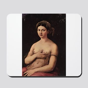 Portrait of a Young Woman Mousepad