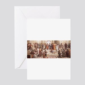 School of Athens Greeting Card