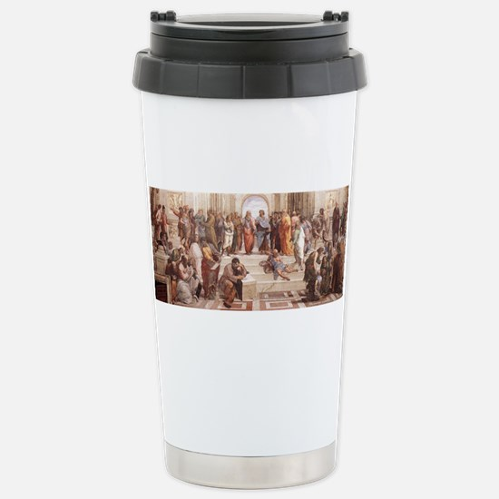 School of Athens Stainless Steel Travel Mug