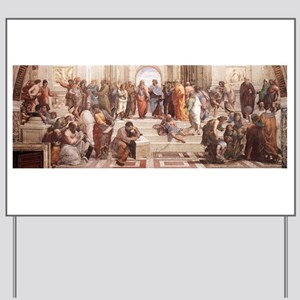 School of Athens Yard Sign