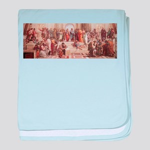 School of Athens baby blanket