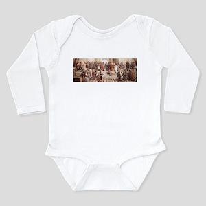 School of Athens Long Sleeve Infant Bodysuit