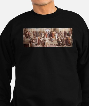 School of Athens Sweatshirt (dark)