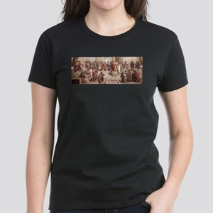 School of Athens Women's Dark T-Shirt